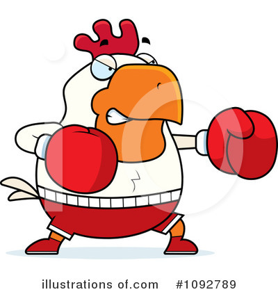 Boxer Clipart #1092789 by Cory Thoman