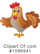 Royalty-Free (RF) Chicken Clipart Illustration #1096941