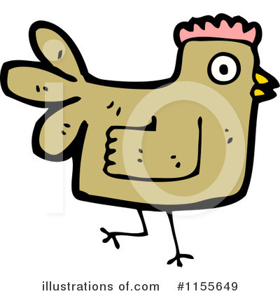 Chicken Clipart #1155649 by lineartestpilot
