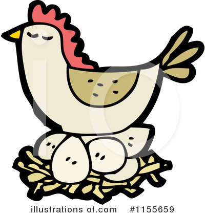 Chicken Clipart #1155659 by lineartestpilot