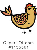 Royalty-Free (RF) Chicken Clipart Illustration #1155661