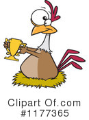 Royalty-Free (RF) Chicken Clipart Illustration #1177365