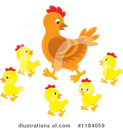 Chick Clipart #1184059 by Alex Bannykh