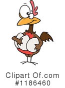 Royalty-Free (RF) Chicken Clipart Illustration #1186460