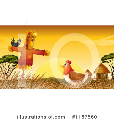Scarecrow Clipart #1187560 by Graphics RF
