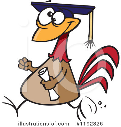 Graduate Clipart #1192326 by toonaday