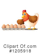 Chicken Clipart #1205918 by Graphics RF