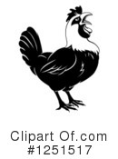 Royalty-Free (RF) Chicken Clipart Illustration #1251517