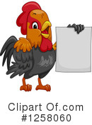 Royalty-Free (RF) Chicken Clipart Illustration #1258060