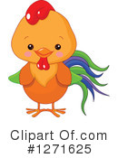 Royalty-Free (RF) Chicken Clipart Illustration #1271625