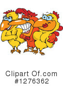 Chicken Clipart #1276362 by Dennis Holmes Designs