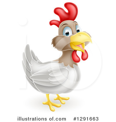 Rooster Clipart #1291663 by AtStockIllustration
