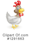 Royalty-Free (RF) Chicken Clipart Illustration #1291663