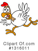 Chicken Clipart #1316011 by LaffToon