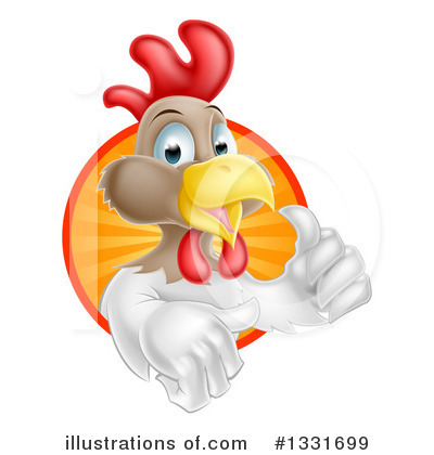 Rooster Clipart #1331699 by AtStockIllustration