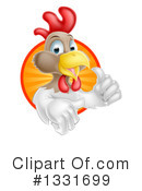 Royalty-Free (RF) Chicken Clipart Illustration #1331699