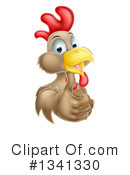 Royalty-Free (RF) Chicken Clipart Illustration #1341330