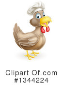 Royalty-Free (RF) Chicken Clipart Illustration #1344224