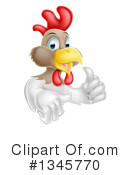Royalty-Free (RF) Chicken Clipart Illustration #1345770