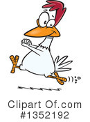 Chicken Clipart #1352192 by toonaday