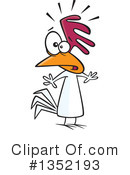 Chicken Clipart #1352193 by toonaday