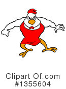 Chicken Clipart #1355604 by LaffToon