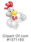 Royalty-Free (RF) Chicken Clipart Illustration #1371150