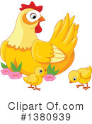Chicken Clipart #1380939 by Pushkin