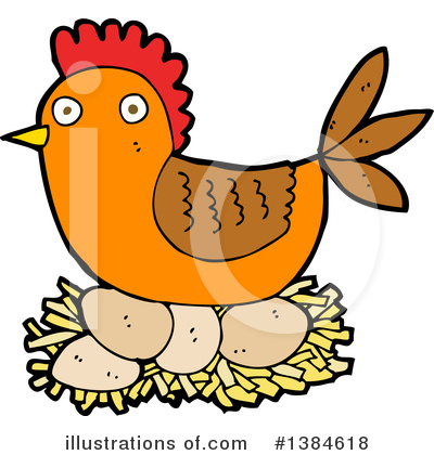 Chicken Clipart #1384618 by lineartestpilot
