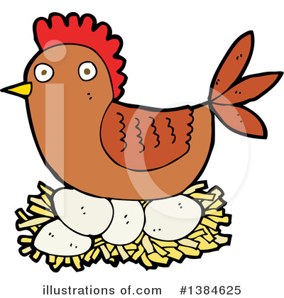Chicken Clipart #1384625 by lineartestpilot
