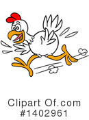 Chicken Clipart #1402961 by LaffToon