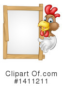 Chicken Clipart #1411211 by AtStockIllustration