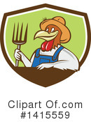 Chicken Clipart #1415559 by patrimonio