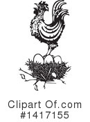 Royalty-Free (RF) Chicken Clipart Illustration #1417155