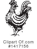 Chicken Clipart #1417156 by xunantunich