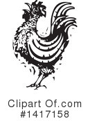 Royalty-Free (RF) Chicken Clipart Illustration #1417158
