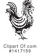 Royalty-Free (RF) Chicken Clipart Illustration #1417159