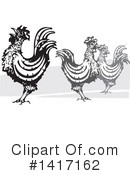 Chicken Clipart #1417162 by xunantunich