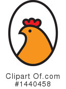 Chicken Clipart #1440458 by ColorMagic