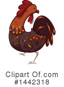 Royalty-Free (RF) Chicken Clipart Illustration #1442318