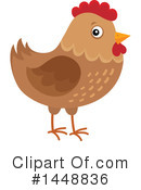 Chicken Clipart #1448836 by visekart