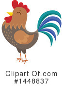 Royalty-Free (RF) Chicken Clipart Illustration #1448837