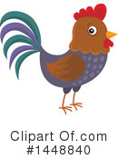 Chicken Clipart #1448840 by visekart