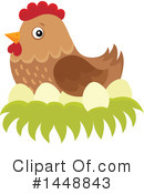 Royalty-Free (RF) Chicken Clipart Illustration #1448843