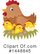 Royalty-Free (RF) Chicken Clipart Illustration #1448845