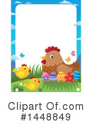 Chicken Clipart #1448849 by visekart
