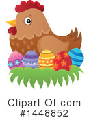 Royalty-Free (RF) Chicken Clipart Illustration #1448852