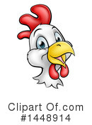 Royalty-Free (RF) Chicken Clipart Illustration #1448914