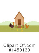 Royalty-Free (RF) Chicken Clipart Illustration #1450139