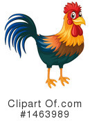 Royalty-Free (RF) Chicken Clipart Illustration #1463989